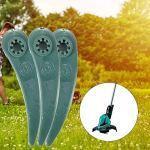 Lot de 25 lames de rechange en plastique pour coupe-bordures Bosch Art 26-18Li, Art 23-18 Li