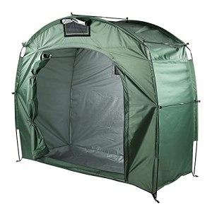 MUZILIZIYU Tente à vélos, Tente à vélos de Bicyclette Durable, Tente à vélos en Plein air pour Jardin de Camping Usage de randonnée (Color : Grass Green)