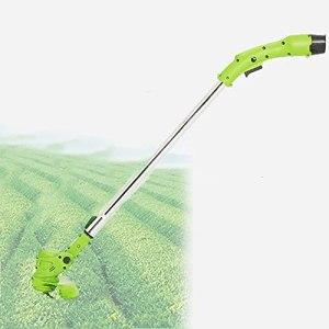 MZBZYU Tondeuse Hélicoïdale, Évolutif Portable Faible Bruit Tondeuse Electrique sans Fil à Gazon avec Tête de Tondeuse à Gazon Etanche Rotative à 180° pour Les Pelouses de Jardin Agricole