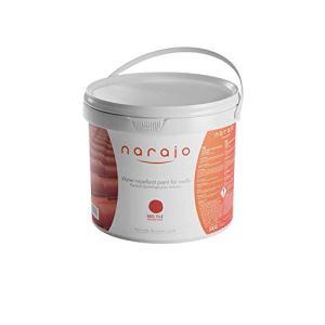 NARAJO® – Peinture Hydrofuge Colorée – Rouge Tuile – Imperméabilisant Prêt à l'Emploi pour Toitures – Application Simple – Produit en Phase Aqueuse de Qualité Professionnelle – 5 kg