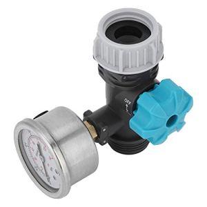 Omabeta Réducteur de Pression régulateur de Pression d'eau vanne de Pression d'eau régulateur de Pression vanne de réduction de Pression Durable pour Jardin