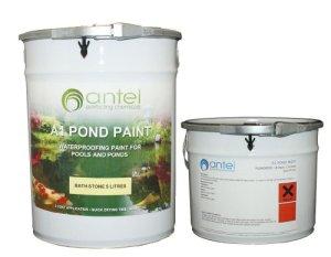 Peinture pour bassin A1 (5 litres, blanc)
