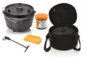 Petromax Feu Pot Kit de démarrage ft9avec étui