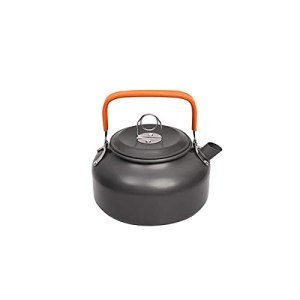 Pots antiadhésifs Kit de désordre de cuisine extérieure, kit de cuisine en plein air, randonnée de cuisine Camping Cookware, aluminium Cuisine Set d'eau Bouilloire Pan Pan Pique-nique pour tous les po