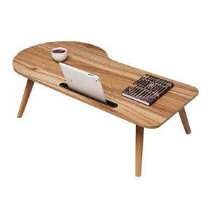 Produits ménagers/meubles Table pliante for ordinateur portable portable, bureau d'étude table, bureau (couleur: B, Taille: 100 * 50cm) (Color : A, Size : 90 * 48cm)