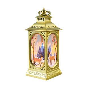 RoMantic Cuisine & Maison Nouvelles décorations de Noël LED veilleuse Lumineuse Ornements Pendentif Cadeaux créatifs de Noël Lanterne Portable