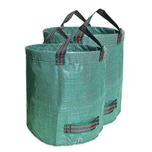 Sacs à déchets de jardin de 50 à 550 litres – Robustes – Réutilisables – Avec poignées de transport