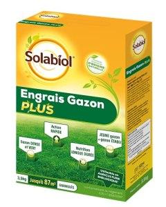 Solabiol SOGAZYPLUS35 SOLBAIOL SOGAZPLUS35   Engrais Mini-Granulés Longue Durée sur La Croissance, La Couleur Et La Robustesse des Gazons   3,5kg   87m², Action Rapide