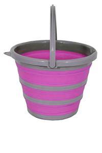 Spear & Jackson Pink Falteimer Seau, Rose Bonbon