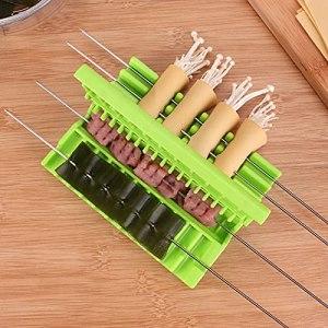 surfsexy Brochettes à brochettes à viande – Outils de cuisson pour barbecue – Gadget de cuisine facile à porter – Accessoires de cuisine