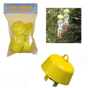 Tap-trap® –Tap Trap –leurre véritablement écologique – Piege Frelon Asiatique – Piege Frelon – Piege a Guepe – Piege Papillons de nuit – Piege Mouche des Fruits – Piege Mouches des oliviers