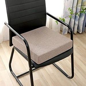 TongJie Coussin de chaise carré épais pour jardin, salle à manger, canapé, fauteuil – Doux au toucher – Pour l'intérieur et l'extérieur