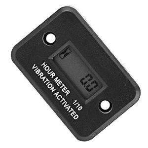 Vibration Compteur horaire sans fil numérique étanche moteur Diesel Motor heure pour Guage Tondeuse DJ-103