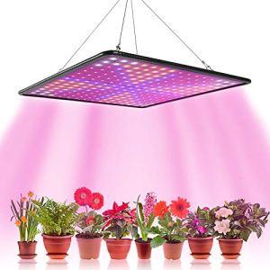 1000W Lampe Led Horticole Croissance Floraison,Grow Light pour Culture Indoor Plante Lampe de Plante Croissance Hydroponique Eclairage Germination avec Crochet (C)