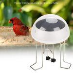 Agitation de l'eau pour le bain d'oiseaux, agitateur d'énergie solaire pour l'eau du bain d'oiseaux idéal pour attirer les oiseaux et empêcher les moustiques de pondre des œufs dans les bains d'oiseau