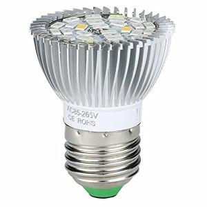 Ampoule pour plantes – Culot E27 – 28 LED – 7 W – Pour la croissance des plantes d'intérieur – Spectre complet