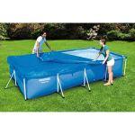 Bestway – Power Steel – Bâche pour piscine, couverture, 304 x 205 cm