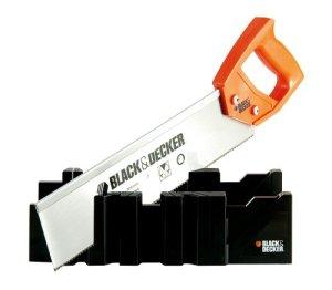 Black + Decker BDHT0-20193 Boîte à onglet avec scie à dos
