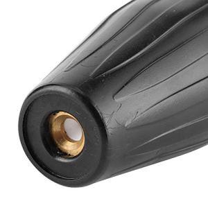 Buse turbo de laveuse, outil de lavage remplaçable de construction efficace en laiton et en acier inoxydable à connexion rapide pour produit de lavage de voiture(Aperture 4.0)