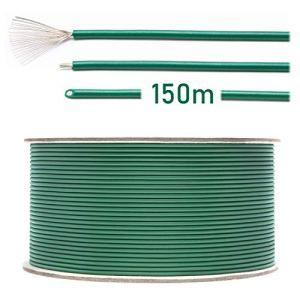 Câble de délimitation universel LOHAG pour tondeuse robot à gazon, accessoire – Aluminium plaqué cuivre de qualité supérieure – Ø 2,7 mm