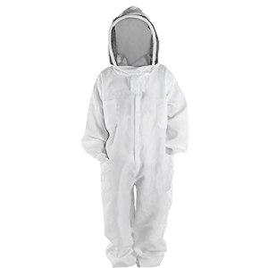 Costume Apiculture Très Épais Bee-proof Vêtements Costume Espace Naturel À Voile Ronde Pour Bee Farm (xxl), Apiculture Soins Élevage