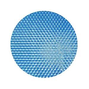 Couverture de piscine solaire, diamètre rond 305 cm Film solaire de piscine, épaisseur 120 µm protecteur de poussière de bâche solaire de piscine ronde, film de couverture chauffant