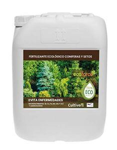 CULTIVERS Engrais Liquide pour Conifères et Haies Engrais Écologique 20 l 100% Biologique et Naturel – Prévient Les Maladies, Arbustes Vigoureux, Feuillage Plus Vert
