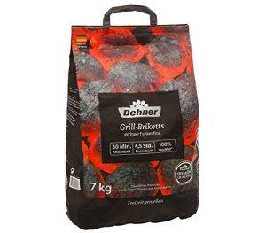 Dehner Premium Briquettes pour Barbecue 7 kg