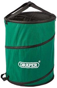 Draper 34041 Sac de propreté dépliable à usage général Vert