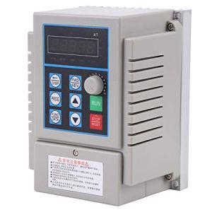 Entraînement à fréquence variable, 1 pc AC 220 V 0.75kW variateur de fréquence variateur VFD variateur de vitesse inverseur phrase unique