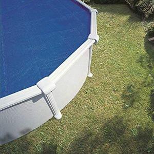 Gre 773326 – Couverture Solaire Isotherme pour Piscine Ovale 735 X 375 cm, Couleur Bleu