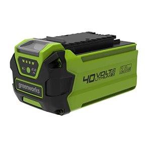Greenworks Tools batterie G40B2 (batterie puissante rechargeable Li-Ion 40 V 2 Ah adaptée à tous les appareils de la série Greenworks Tools 40 V)
