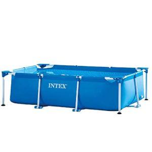 INTEX-Piscine Metal Frame Junior rectangulaire 2,60 x 1,60 x 0,65 m
