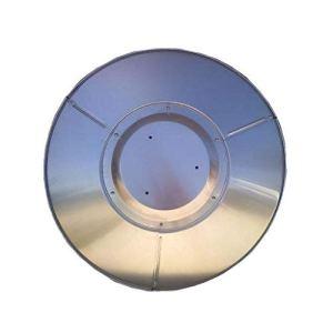 LOFAMI Chauffage extérieur Bouclier de Remplacement en Aluminium Radiateur d'extérieur Accessoires réflecteur de Chaleur Silver Shield