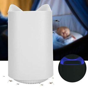 Mosquito Killer Light, Piège à moustiques 360 degrés Surround Ménage USB Bleu clair Violet Type d'aspiration Piège à moustiques léger Pas de produit chimique non toxique inodore(Rose)