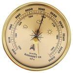 NFRADFM Baromètre, baromètre anéroïde, moniteur d'humidité, station météo multifonction, baromètre, thermomètre portable