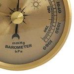 NFRADFM Baromètre, jauge de pression, baromètre de station météo à fixation murale, baromètre pour le mur de la maison, petit baromètre portable