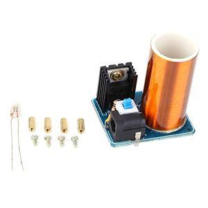 Nicoone Mini Bobine Tesla À Distance LED Étincelle Module Kit Électronique DIY Kit DC12V (Produit Fini)