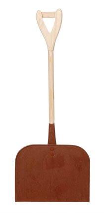 Pelle à neige en bois rustique–39,4cm