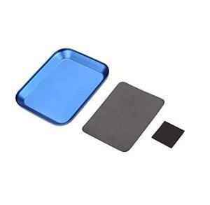 Plaque magnétique en alliage d'aluminium pour réparation de modèle de voiture télécommandée – Couleur aléatoire