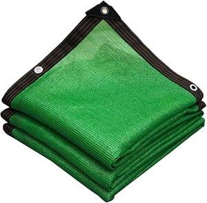 Réseau D'ombrage Avec Des Oeillets D'ombre Net D'ombrage, Réseau D'ombre Résistant Aux UV, Tissu Vert 85% Auvents, Tissu D'ombrage De Soleil Pour Serres Ombre Du Maille De Soleil,3x5m