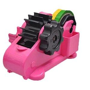 Ruban distributeur automatique de rouleau papeterie Porte-bande rouleau de ruban portable machine Rose