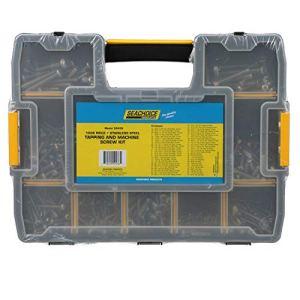 Seachoice 59436 Kit de taraudage et vis en acier inoxydable 1008 pièces