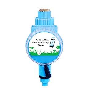 Sunydog Minuterie d'arrosage Contrôleur d'irrigation automatique Minuterie d'arrosage APP Télécommande Connexion WiFi avec capteur de pluie pour les pelouses de jardin Patio Agriculture
