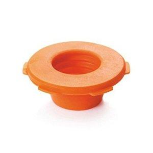 Swiftswan Égouts Tuyau Pest Control anti-odeur Déodorant Joint d'étanchéité machine à laver piscine Siphon de sol Bouchon d'étanchéité, Orange, 72*72*28mm