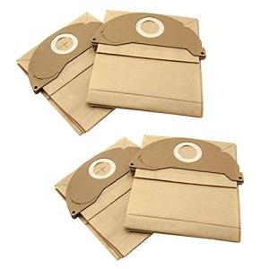 vhbw 20x sacs compatible avec Kärcher A2004, A2024 PT, A2054 ME, A2064 PT, MV 2, SE 2001, SE 3001 aspirateur – papier, marron