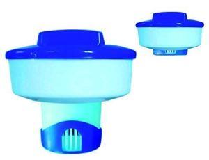 well2wellness Distributeur flottant / Distributeur de chlore pour tablettes de chlore de 200 g