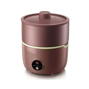 WSJTT Fèves germées Machine, Sable Violet Pot en céramique