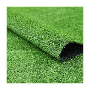 YNFNGXU Gazon artificiel – Épais Réaliste Facile à nettoyer Résistance à haute température Durabilité Support en caoutchouc avec trous de drainage Tailles personnalisées (Size:10mm grass height-2mx9m)