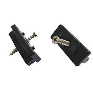 ZNYD Lot de 100 clips de terrasse en acier inoxydable et plastique pour lames WPC/BPC + vis